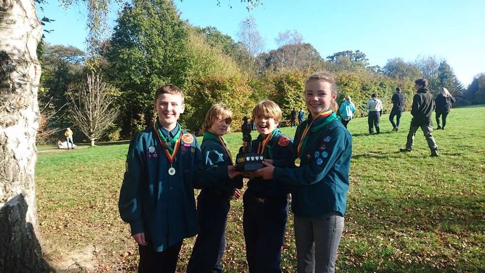 Scouts Win Hazlehurst Hike Competition