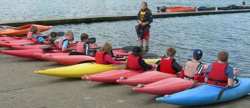 Cubs & Scouts Sailing & Canoeing Day - Danson - June 2012